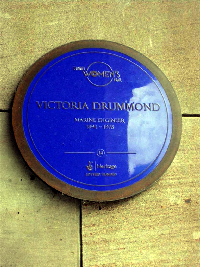 Plaque to Victoria Drummond